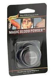 graftobian magic blood powder mini pro