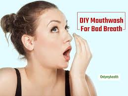 diy mouthwash to get rid of bad breath