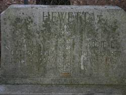 "Jennette Abigail ""Abbie"" Leonard Hewett (1877-1951) - Find A Grave Memorial"
