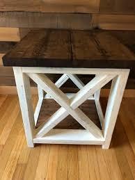 table farmhouse style coffee table