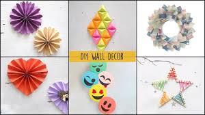 6 cool and easy diy wall decor ideas