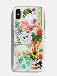 90s Stickers Case Fun Iphone Cases Skinnydip London