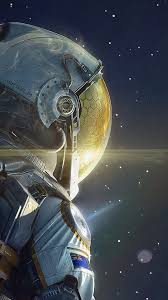 wallpaper astronaut in e android