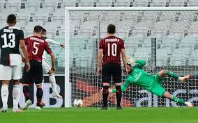 Ювентус» не забил «Милану», играя почти весь матч в большинстве ...