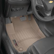 weathertech tan front floorliner
