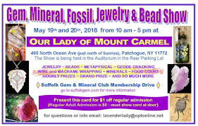 annual spring gem and mineral show may