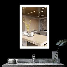alice dimmable led backlit mirror for