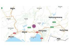 Adana'da 4.3 büyüklüğünde deprem - Evrensel.net