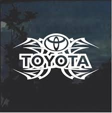Toyota Tribal V2 Window Decal Sticker Custom Sticker Shop