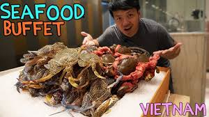 SEAFOOD Buffet in Saigon VIETNAM ...