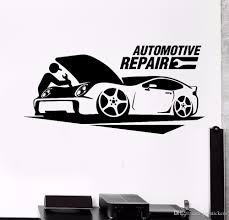 Wall Art Poster Automotive Repair Car Service Wall Sticker Garage Wall Decor Removable Vinyl Window Decal Car Repair Decor Flower Wall Decals Flower Wall Sticker From Joystickers 8 96 Dhgate Com