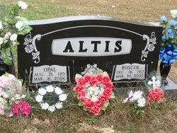 Opal Pauline Skyles Altis (1921-2006) - Find A Grave Memorial