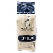 stone ground brown teff flour