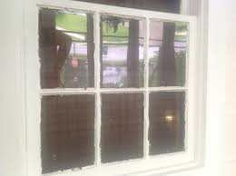 replacing the glass in single pane wood