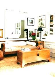 oversized wall mirrors small cool