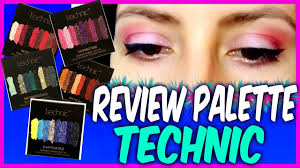 review palette technic cosmetics i dupe