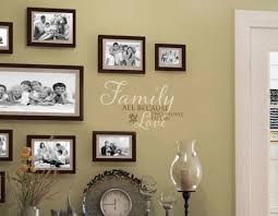 Family All Because Two People Wall Decal