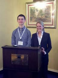 Abby Cook '12 and Kevin Machia '12 Present Research | St. Lawrence ...