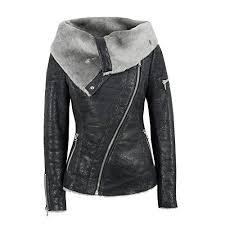 new smallrabbit women s leather jackets