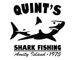 Jaws Quint S Shark Fishing Die Cut Vinyl Decal Sticker Decals City