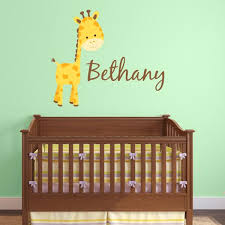 Personalized Nursery Wall Decals Baby Name Decals