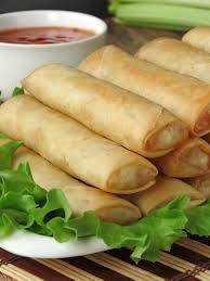 lumpia filipino spring rolls yummy