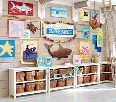 Woven Fish Hanging Decor Ocean Themed Bedroom Surf Decor Kids Nautical Room