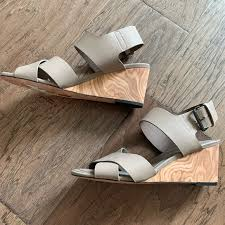 Vince Shoes | Wood Heel Sandal | Poshmark