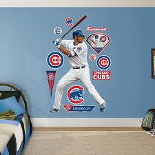 Amazon Com Fathead Mlb Chicago Cubs Kris Bryant Sports Outdoors
