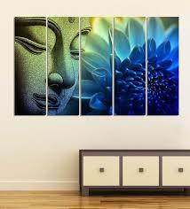 green wood multiple frames buddha