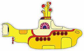 The Beatles Yellow Submarine Sticker Decal 2 Sizes Vinyl Bumper Window Wall Ebay