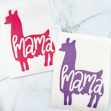 Mama Llama Decal Emily S Boutique