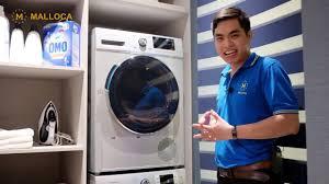 Giới thiệu cặp đôi máy giặt - máy sấy Malloca - YouTube