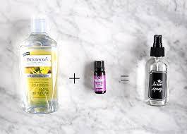 diy lavender linen spray design sponge