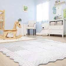 Baby Play Mat With Fence Extra Large 5ft X 6ft Non Toxic Foam Puzzle Floor Mat For Kids Toddler Walmart Com Walmart Com