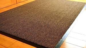 outdoor rug with rubber backing backed
