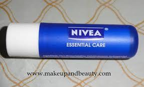 nivea essential care lip balm review