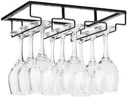 com wine glass rack under