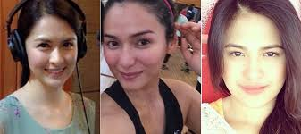 pinoy celebrities without makeup