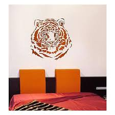 Large Tiger Stencil For Walls Reusable Wall Stencils At Great Prices