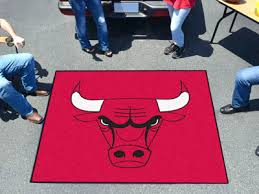 nba chicago bulls tailgater rug 5 x6