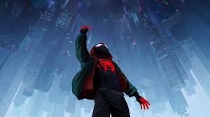 spider verse 2018 official poster