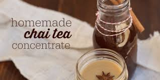how to make chai tea concentrate the