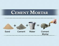 cement mortar its proportion