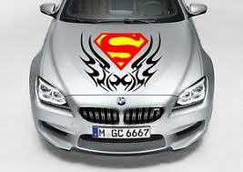 Tribal Superman Logo Decal Vinyl Graphic Hood Side Car Truck Ebay