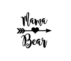 Mama Bear Sticker Mama Bear Yeti Decal Mama Bear Yeti Sticker Mama Bear Decal Mom Gift Gift For Her New Mom Mama Bear Decal Bear Decal Mama Bear Quotes