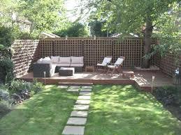 small terraced house garden design