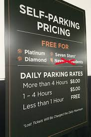 charge locals for self parking