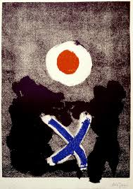 """Last week to see """"A Painter's Hand: The Monotypes of Adolph Gottlieb."""" —  Adolph & Esther Gottlieb Foundation"""