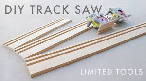 Diy Circular Saw Track Saw Guide Limited Tools Youtube